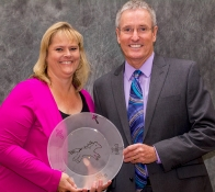 <h5>Dr. John Mulcahy - ACTEAZ Excellence in Leadership Recognition</h5>