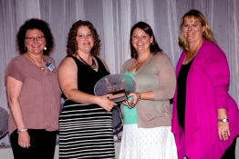 <h5>Jennifer Schwartz and Ashely Williams - Outstanding Career and Technical Education Program</h5>