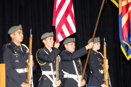 <h5>Flowing Wells Army JROTC - Presentation of Colors</h5>