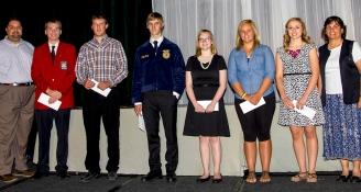 <h5>Scholarship Winners Awarded by ACOVA</h5>