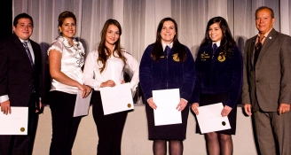 <h5>Scholarship Winners Awarded by ACTEAZ</h5>